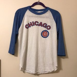 True Vintage super thin Chicago CUBS BASEBALL TEE